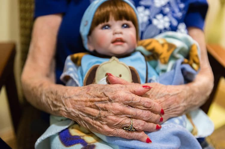 doll therapy for alzheimers