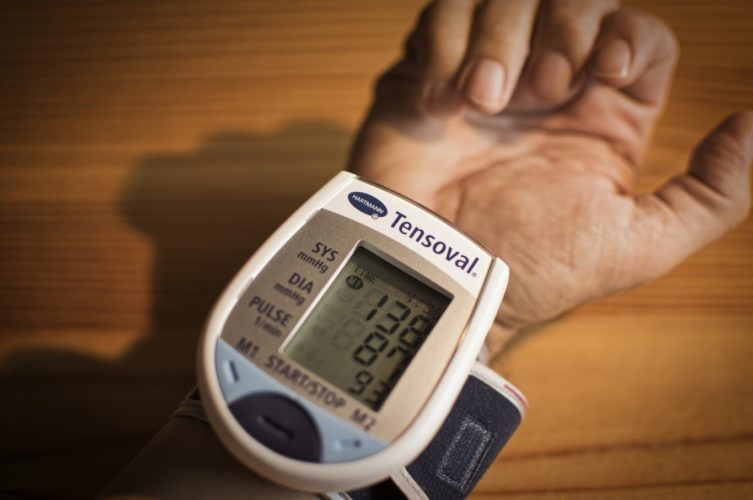 high blood pressure and dementia