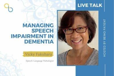dementia speech impairement