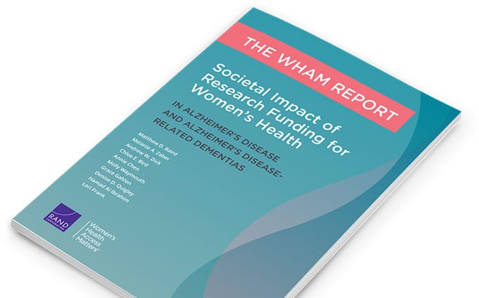 wham-report women's alzheimer's funding research