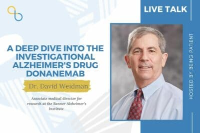 donanemab treatment, David Weidman