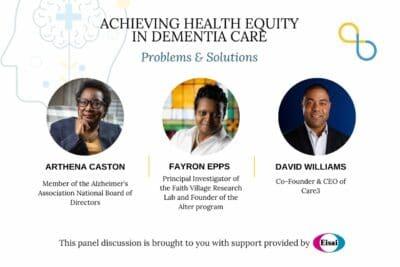 diversity dementia, Arthena Caston, Fayron Epps, David Williams